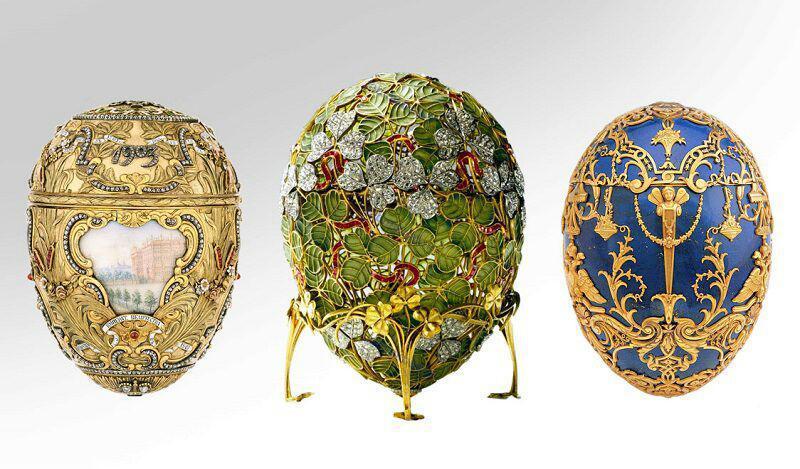 تخم مرغ های طلایی «خانواده سلطنتی روسیه»