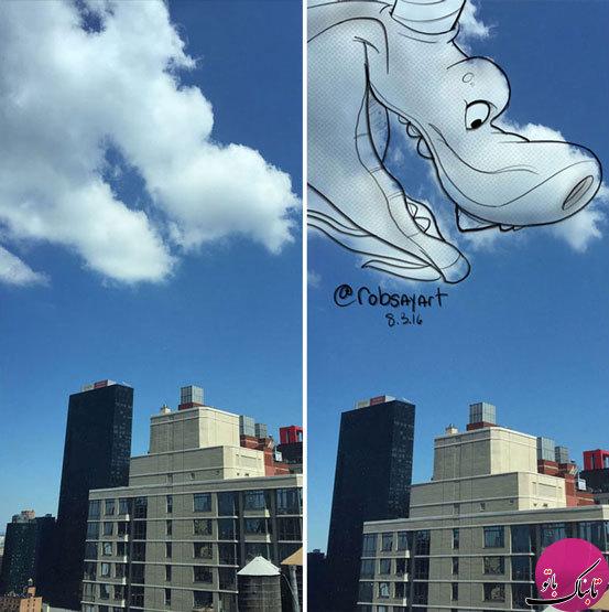 خیالپردازیهای جالب با دنیای ابرها