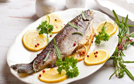آموزش ماهی قزل آلا با سس مخصوص