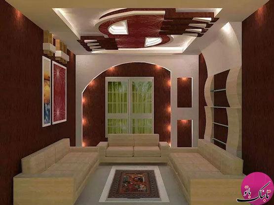 ایدههایی برای تزیین سقف