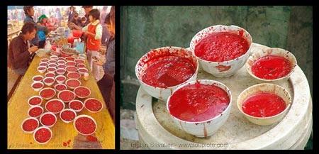«سوپ خون» غذای مورد علاقه مردم این کشور