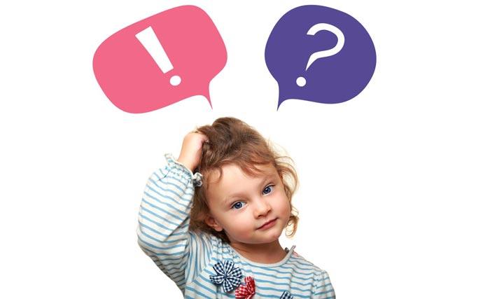 چرا کودک من زیاد سوال می پرسد؟