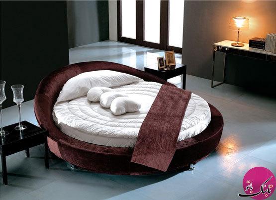 چیدمانی متفاوت با تختخوابهای دایرهای شکل!