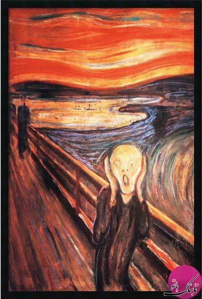 غمگین ترین تابلوهای نقاشی جهان