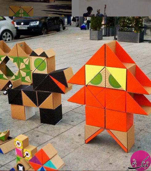ایدههایی برای ساخت اسباببازی با مقوا