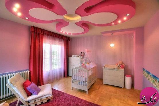 طرحهایی زیبا برای دیزاین اتاق کودک