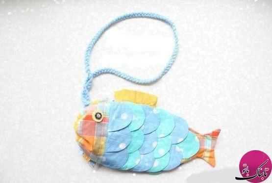 تصاویر: آموزش ساخت جامدادی به شکل ماهی
