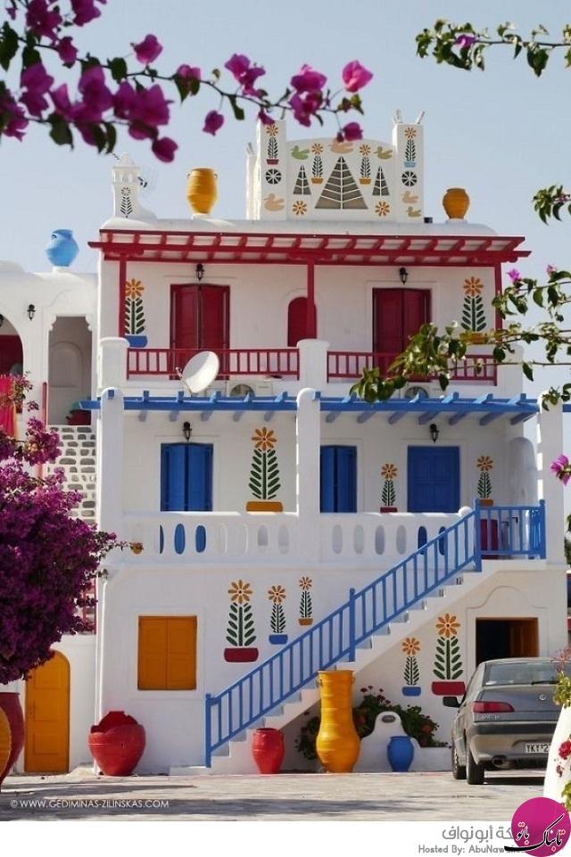 رنگی ترین و زیباترین خانه ها از سراسر جهان
