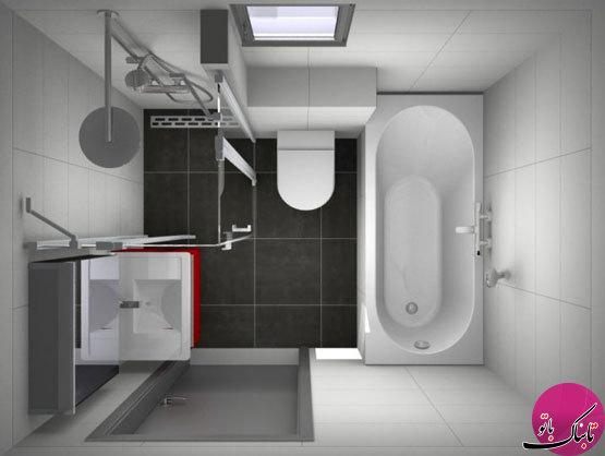 ایدههایی برای چیدمان سرویسهای بهداشتی کوچک