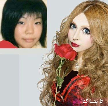 آدم هایی که خود را به عروسک تبدیل کردند