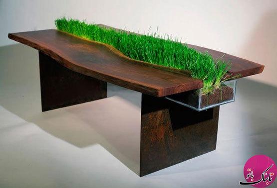 تصاویر: میزهایی با طراحی خیرهکننده