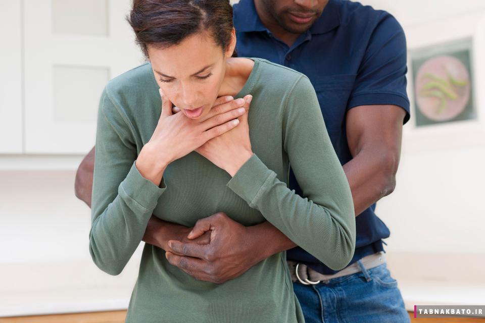 مانور هایملیک برای جلوگیری از خفگی ناشی از پریدن غذا در گلو