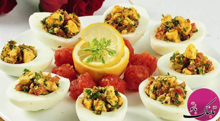 آشنایی با روش تهیهی تخممرغ شکم پر