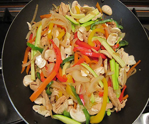 خوراک سبزیجات اتیوپی یک غذای سالم