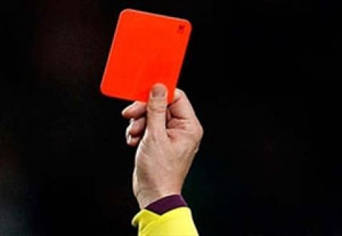 کارت قرمزهای عجیب و غریب در دنیای فوتبال