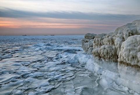 یخ زدن دریا در دمای ۲۰-