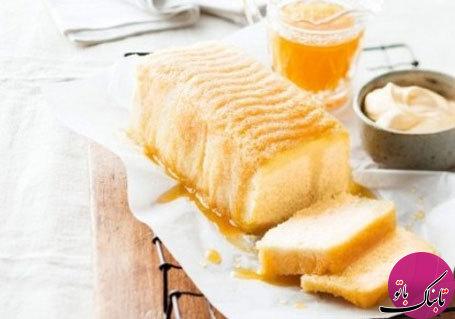 طرز تهیهی کیک پرتقال و بادام در مایکروفر