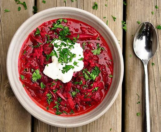 خورش لبو، غذایی خوش رنگ و لعاب