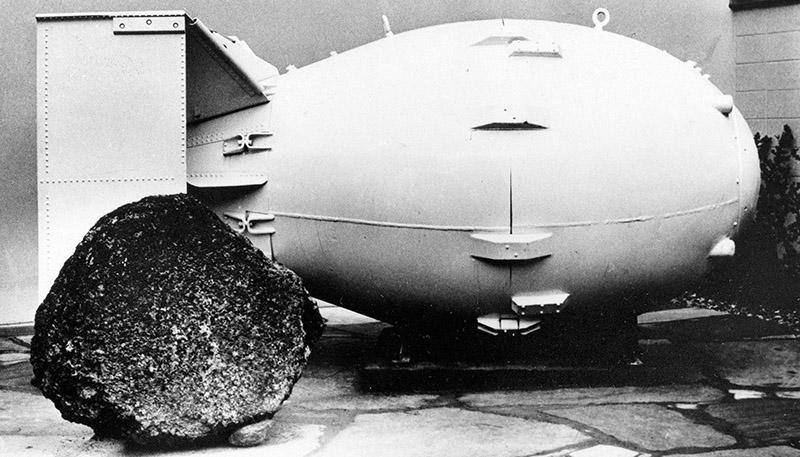 راننده کامیونی که بمب هسته ای می سازد!