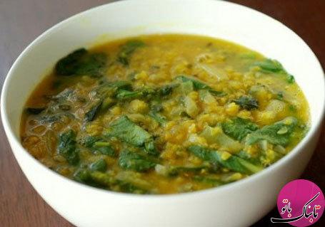 سوپ عدس و اسفناج، لذیذ و پرفایده