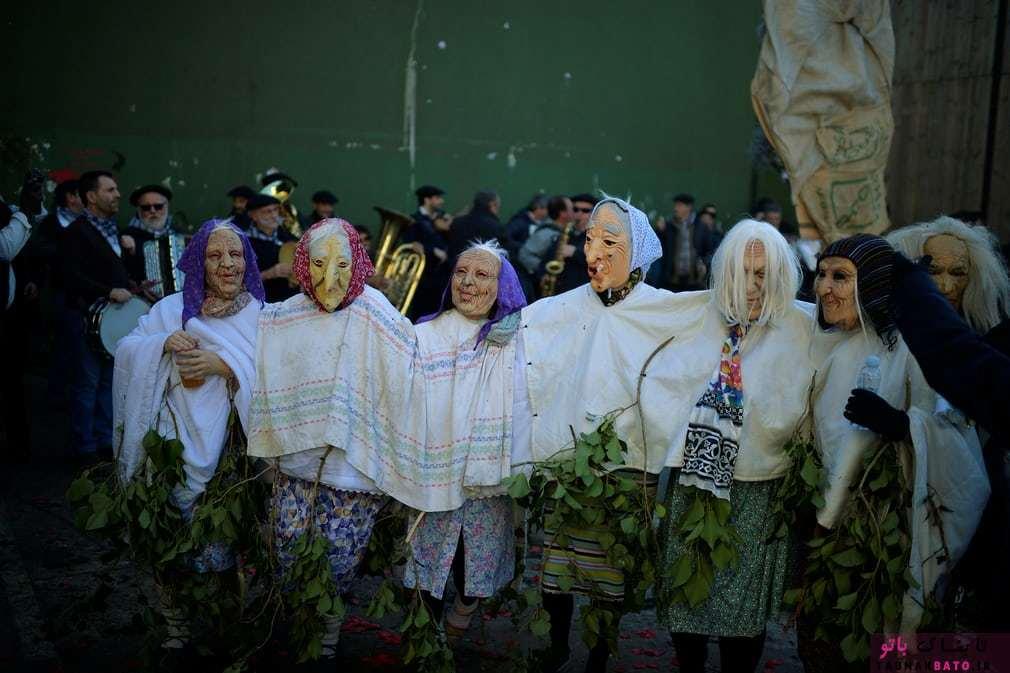 کارناوال و جشنواره باستانی قبیلهای در ایتورن