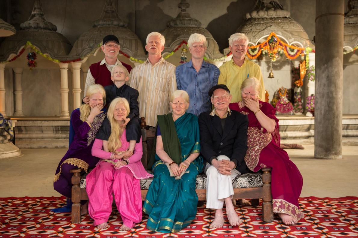 عکس منتخب نشنال جئوگرافیک از یک خانواده خاص