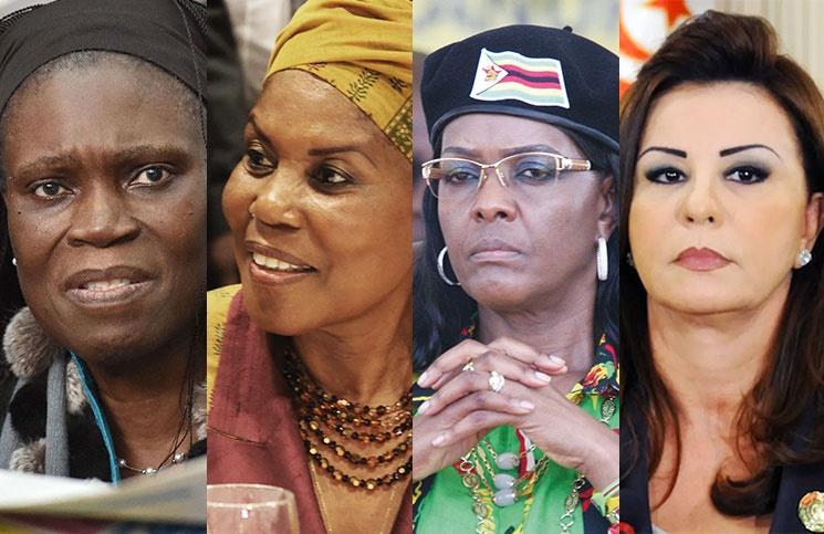 این چهار زن، گور همسران رئیسجمهور خود را کندند +عکس
