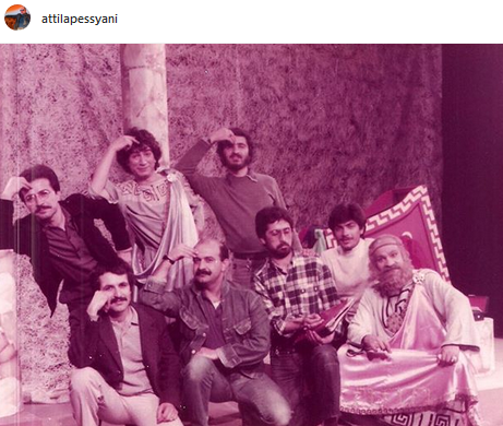 عکس زیرخاکی از بازیگران «محله برو بیا»