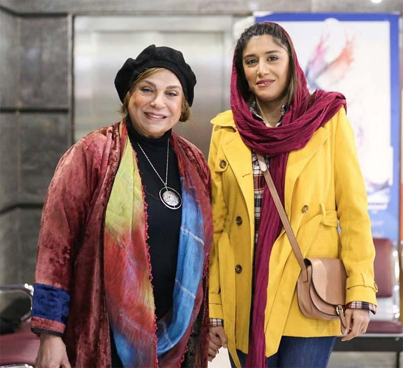 گوهر خیراندیش و دخترش در جشنواره + عکس