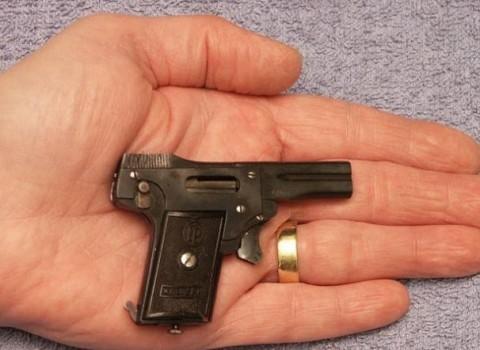 قدرت عجیب اسلحه چند گرمی