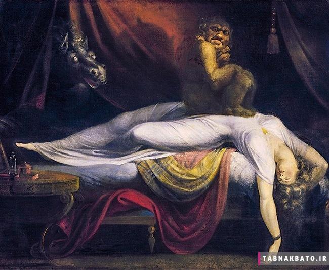 اتفاقات عجیب و گاهاً ترسناک در حین خواب