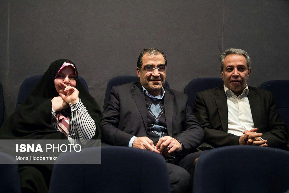 آقای وزیر به همراه همسرش به تماشای لاتاری نشست +عکس
