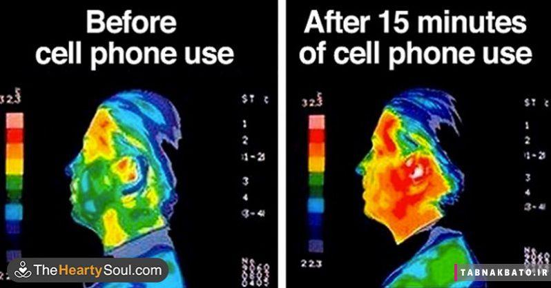 امواج تلفن همراه و افزایش خطر ابتلا به تومور قلبی