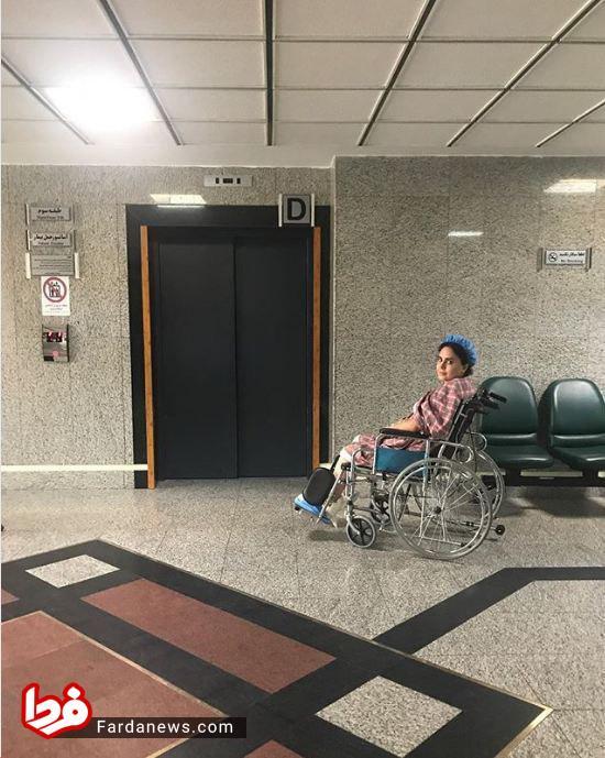 آخرین وضعیت الناز شاکردوست در بیمارستان +عکس