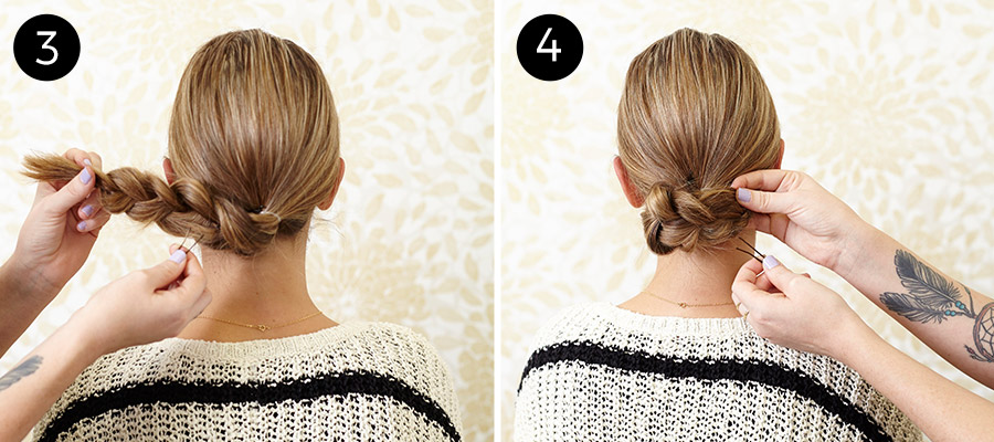 مدل های مو زیبا که در عرض ۵ دقیقه می توانید درست کنید