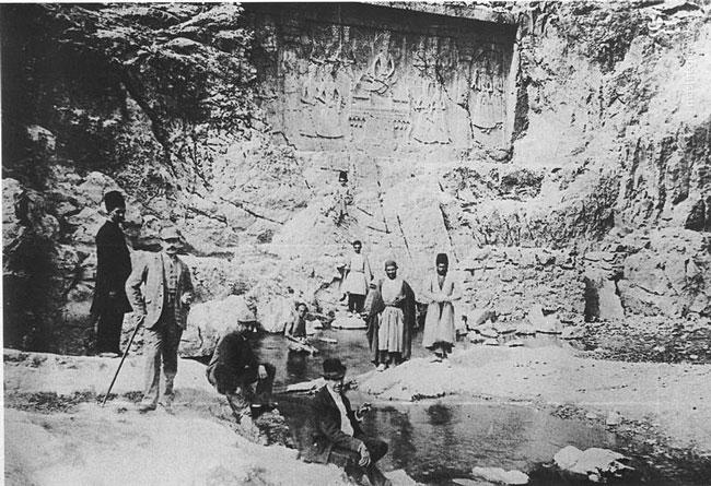 قدیمیترین عکس از چشمه علی شهرری