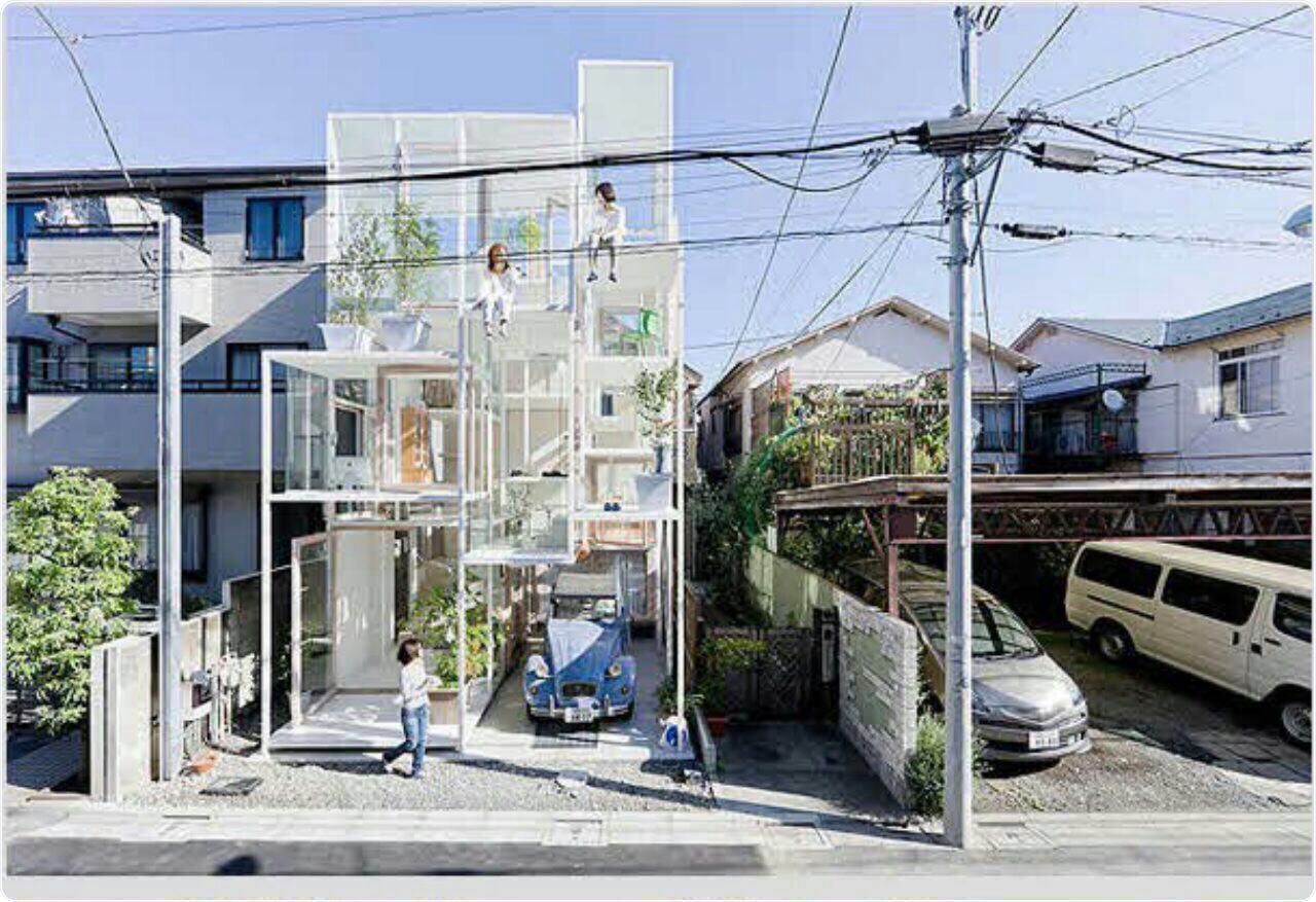 عجیبترین خانه جهان در کشور ژاپن +عکس