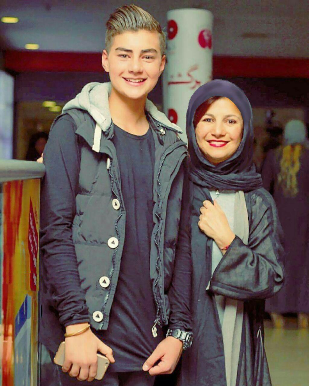 لیلی رشیدی در کنار پسرش در جشنواره امسال +عکس