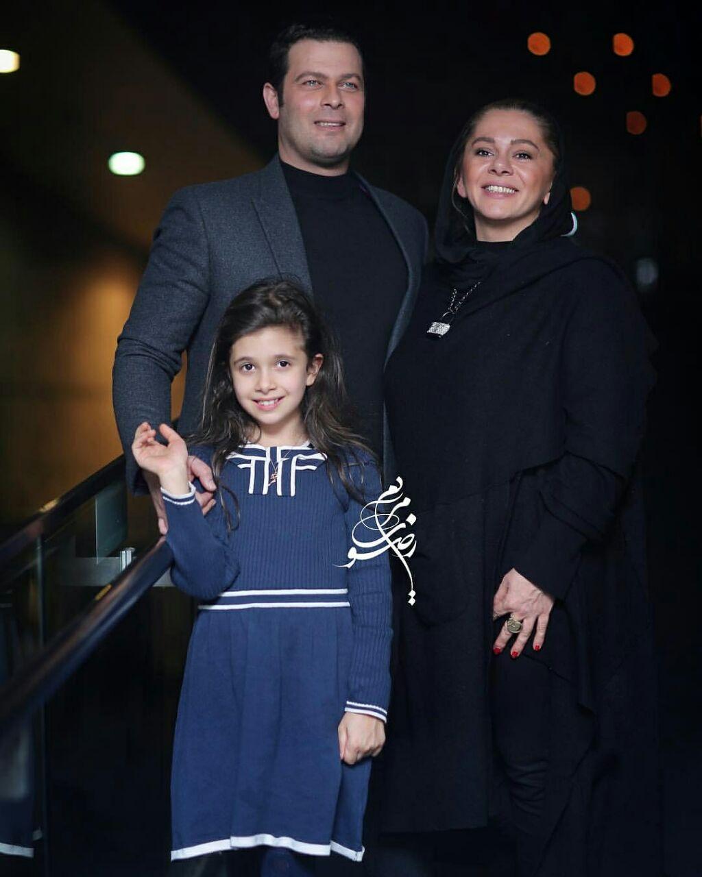 تیپ پژمان بازغی و همسرش دیشب در یک مراسم+ عکس