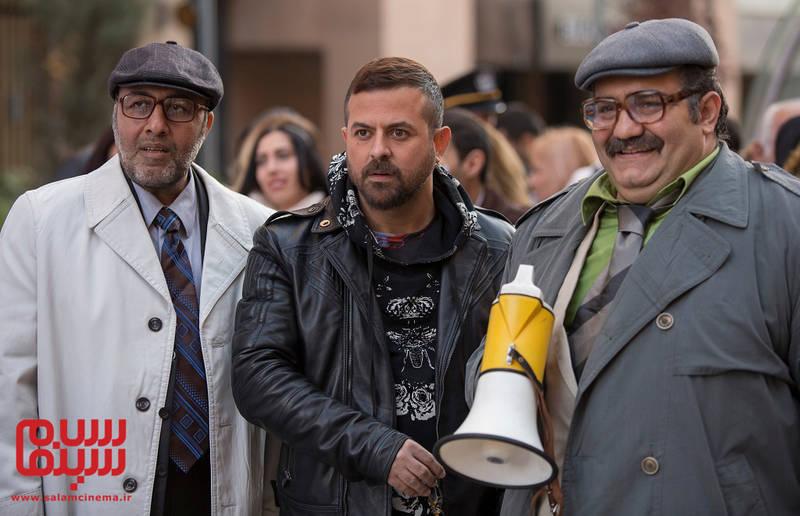 «خاوریِ اختلاسگر» روی پرده سینما +تصاویر