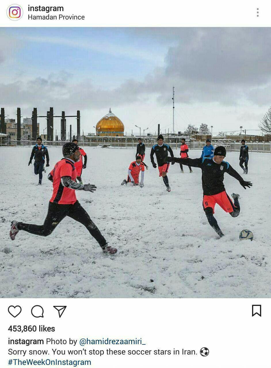 تصویر جالب از ستارههای فوتبال ایران در اینستاگرام
