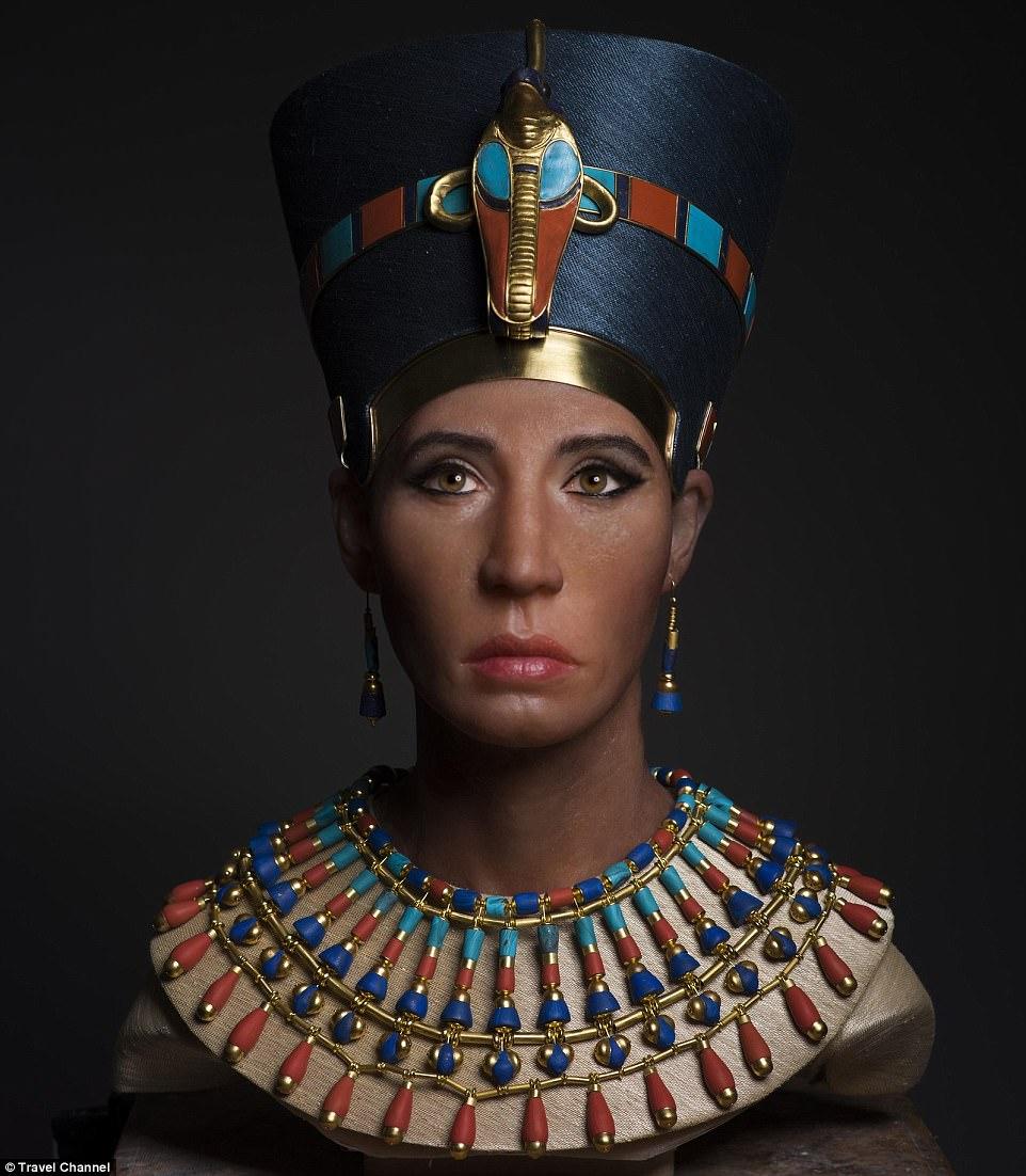 صورت ملکه نفرتیتی بازسازی شد +تصاویر