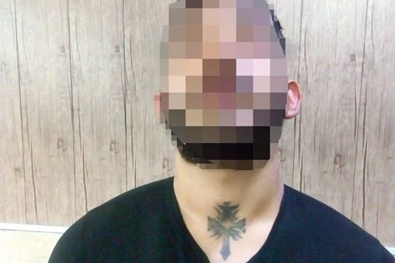 خالکوبی متهم به قتل را به دام انداخت +عکس