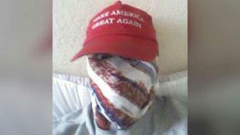 عامل تیراندازی فلوریدا با کلاه معروف ترامپ + عکس