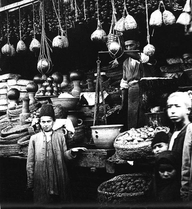 سوپرمارکت عهد قاجار +عکس