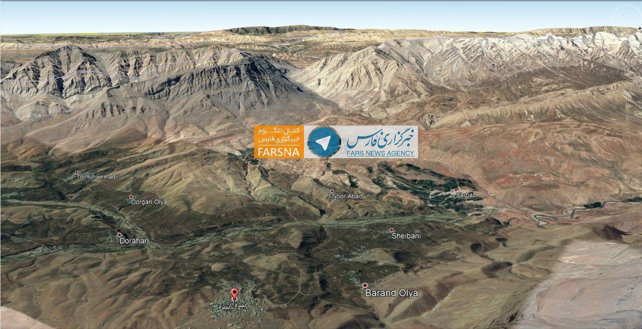 کوههای محل سقوط هواپیمای آسمان +عکس