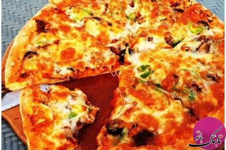 پیتزا با خمیر سیب زمینی