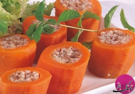 دلمهی هویج، تجربهی طعمی متفاوت