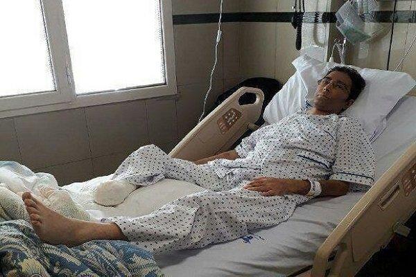 پای بازیکن سابق استقلال را قطع کردند + عکس