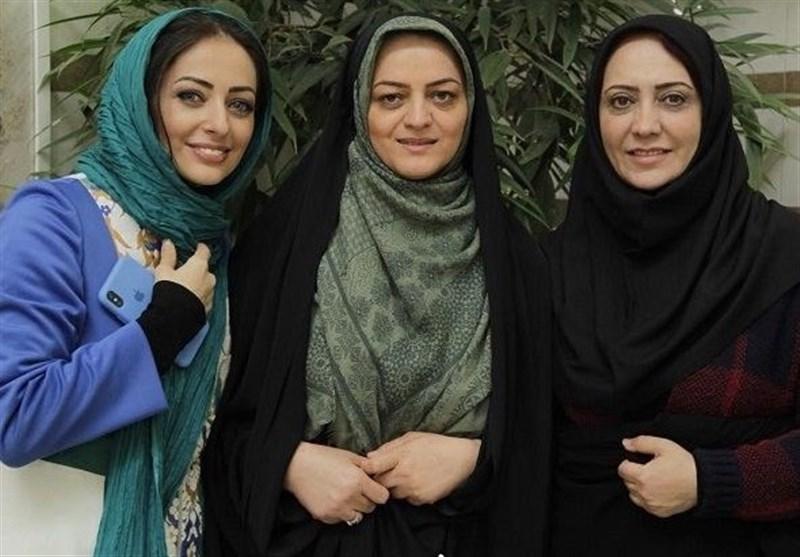 بازیگران معروف خانم در کنار فرزند شهید بابایی +عکس